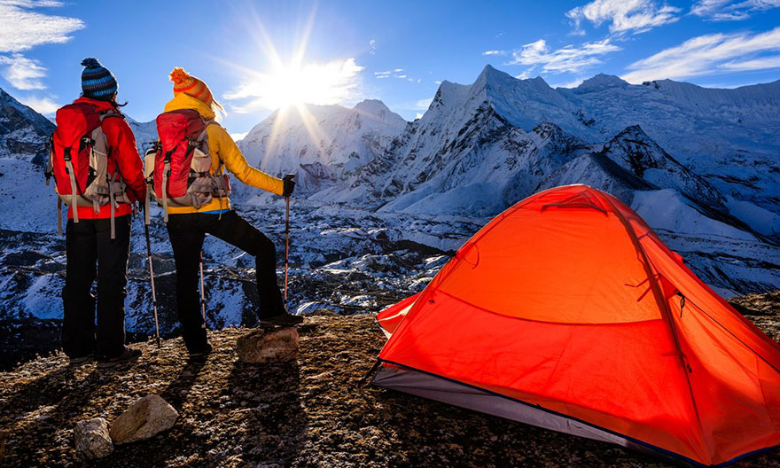 Travel Expectations Vs Reality (20+ Pics) - Camping In The Himalayas
