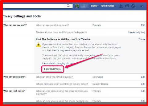 How do i make my facebook as private as possible