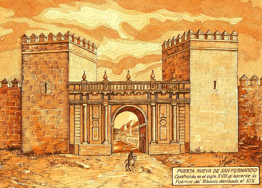 Leyendas de sevilla las murallas de sevilla y ii for Puerta 8 san marcos