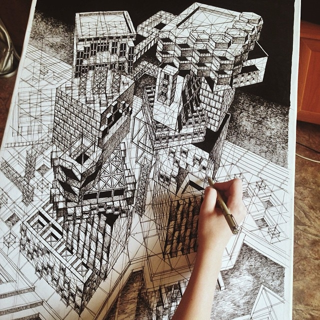 04-Architectural-Fantasy-Milyausha-Garaeva-Impressive-Detailed-Architectural-Drawings-www-designstack-co