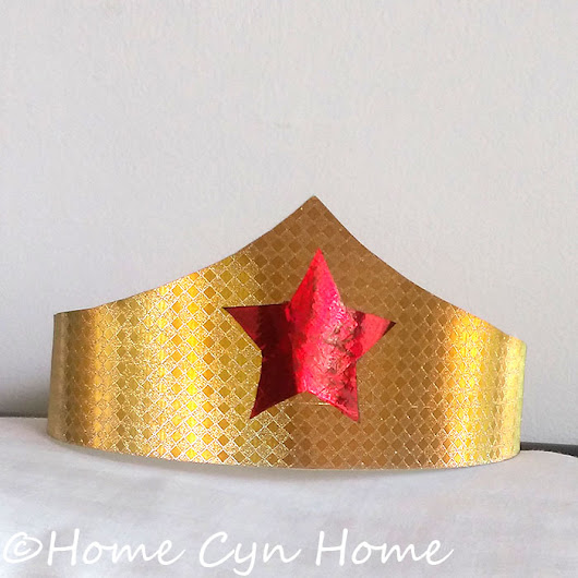 Wonder Woman Party - Home Cyn Home