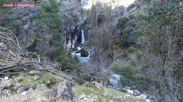 Cascada, Nacimiento río Borosa, Pontones, Sierra de Cazorla, Jaén, Andalucía