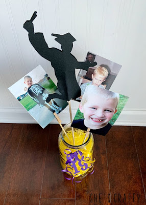 how to make graduation party table centerpieces