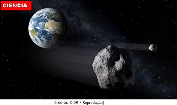 Asteroide passa entre o planeta terra e a Lua nesta quinta-feira