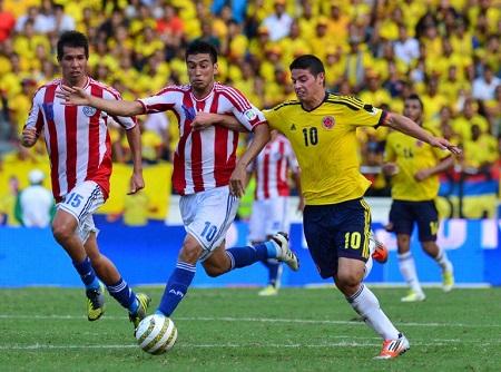 Assistir Colômbia x Paraguai AO VIVO grátis em HD 05/10/2017