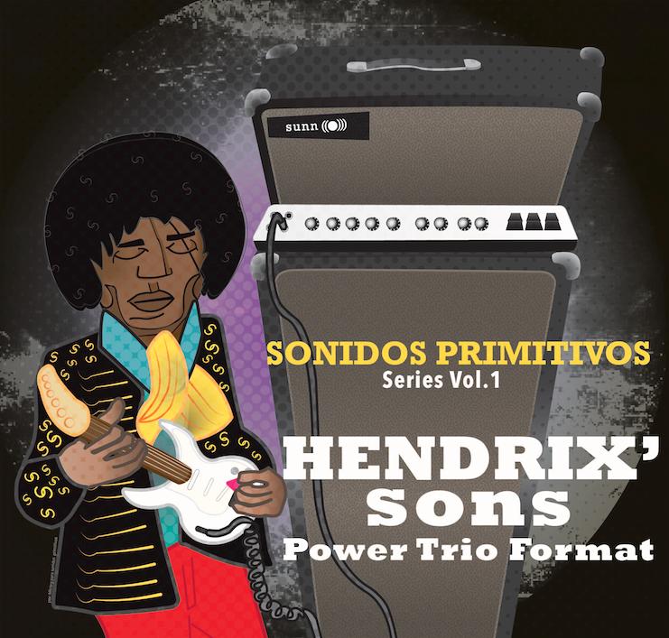 Portada para el volumen 1 de Sonidos Primitivos: que asquerosa portada!