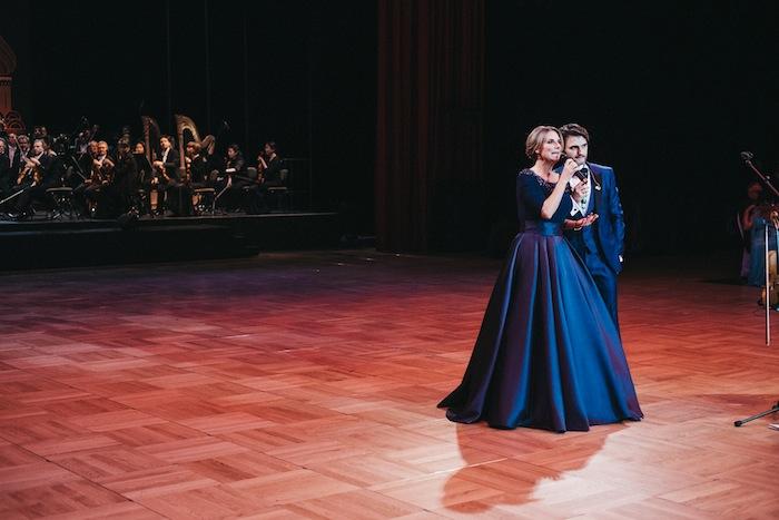 Lenn Kudrjawizki und Kim Fisher Leipziger Opernball 2017