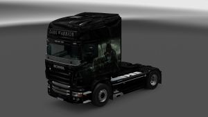 Scania RJL Dark Warrior Skin
