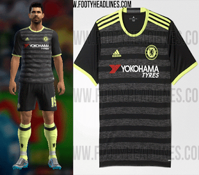 PES 2013 Chelsea 16/17 away kit by vladroman