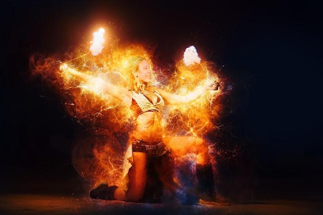 Wild Fire Dancer