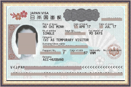 how to write sponsor letter to apply for Japan's Visa