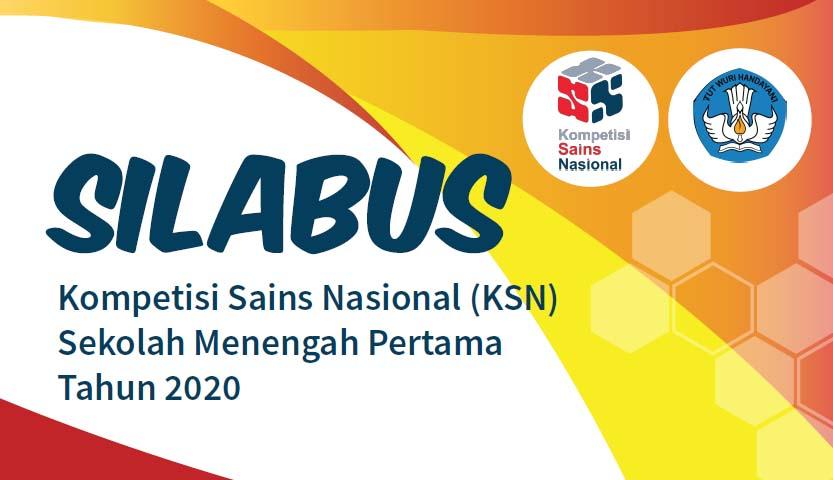 Silabus KSN SMP 2020