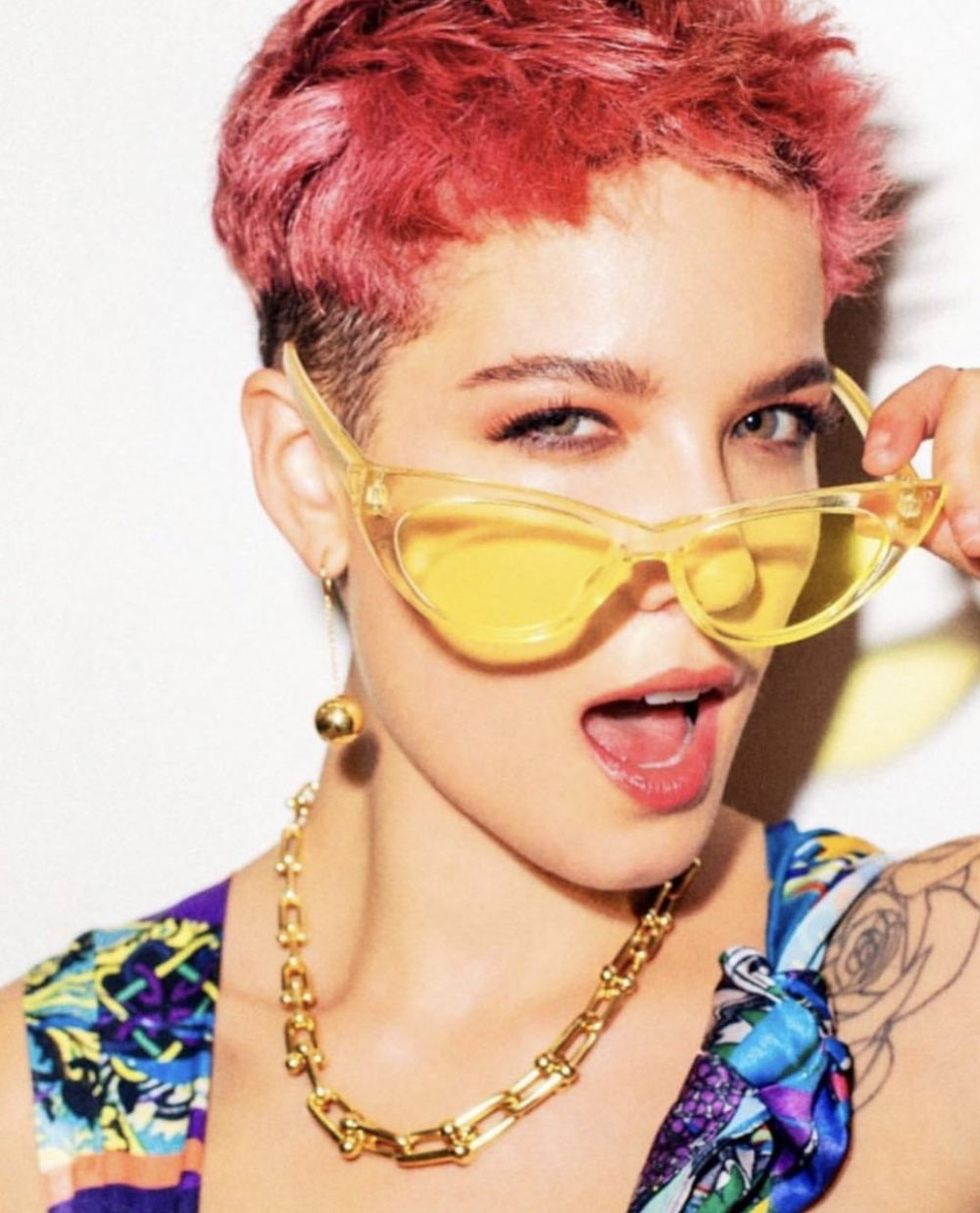 Halsey for GQ Magazine, Japan 2019