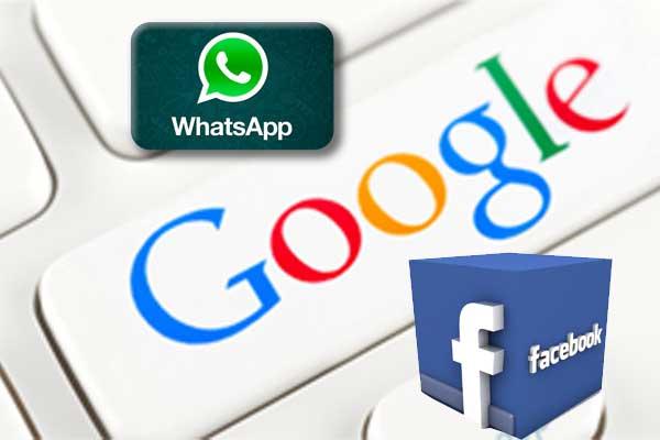 Whatsapp ,Facebook, Google एप की बढ़ाई जाएगी डेटा सिक्युरिटी
