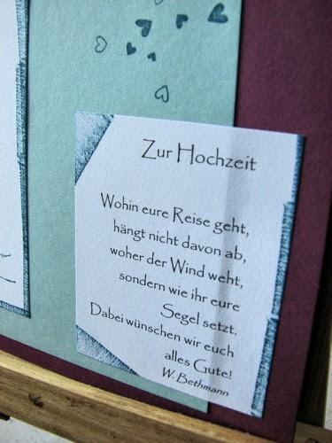 Hochzeitskarte Mit Sail Away