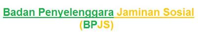 Definisi Badan Penyelenggaraan Jaminan Sosial (BPJS)