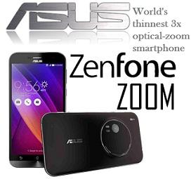Exclusive Launch@ Flipkart:Asus Zenfone Zoom (4GB, 128 GB) for Rs.37999 Only