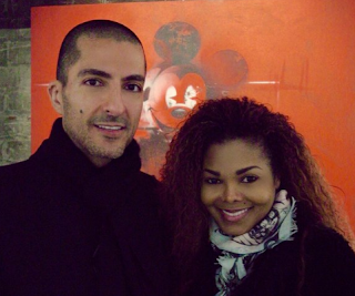Janet Jackson and Husband Photo