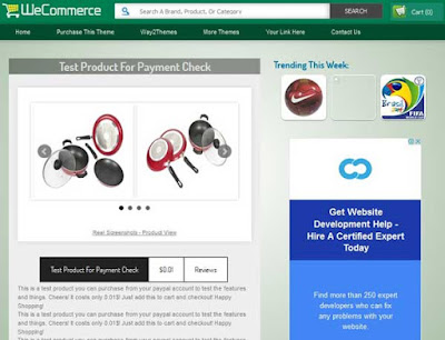 WeCommerce  Clean, Responsive design For Business, E-Commarce, Online Shopping Store blog Right sidebar with post Green, Grey color SEO Ready Free Premium template Gird view Gallery Style 2 Columns layout 2 Columns Footer Blogger Template Download