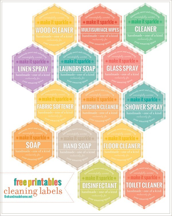 Must have cleaning organizational printables the scrap for How to print your own labels at home