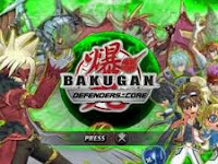 Bakugan Battle Brawlers Defenders Of The Core PSP