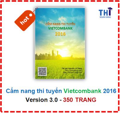 Đáp án chi tiết Đề thi Vietcombank - Ngân hàng Ngoại thương VN (VCB)