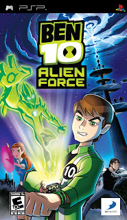 Cheat Ben 10: Alien Force PSP