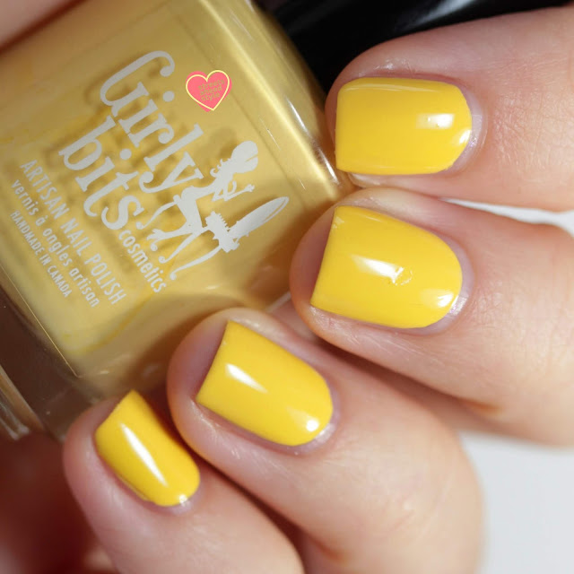 Girly Bits Saffron Saffroff swatch by Streets Ahead Style