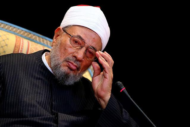 Yusuf Qaradawi, o clérigo sunita controverso está na lista do terror lançada pela Arábia Saudita, Emirados Árabes Unidos, Egito e Bahrein