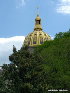 West Virginia Capital dome