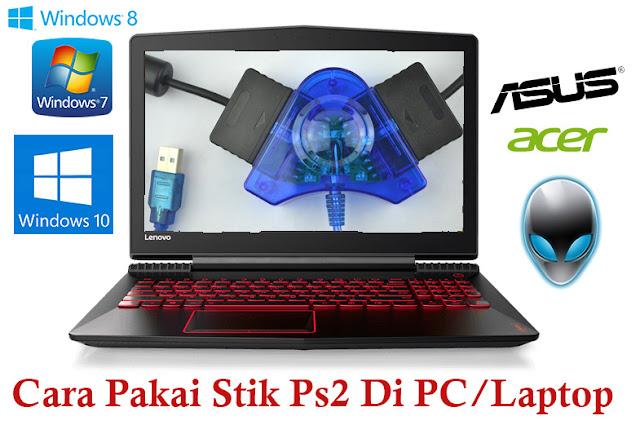 Memang sih ada beberapa game komputer yang cocok dimainkan dengan keyboard dan ada juga g Cara Pakai Stik Ps2 di PC/Laptop Dengan Mudah