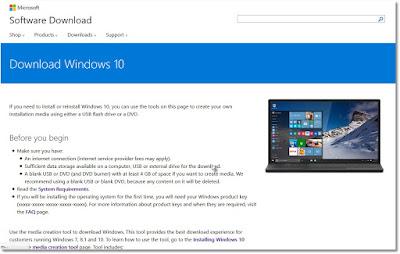 Cara Download Windows 10 ISO dengan Mudah
