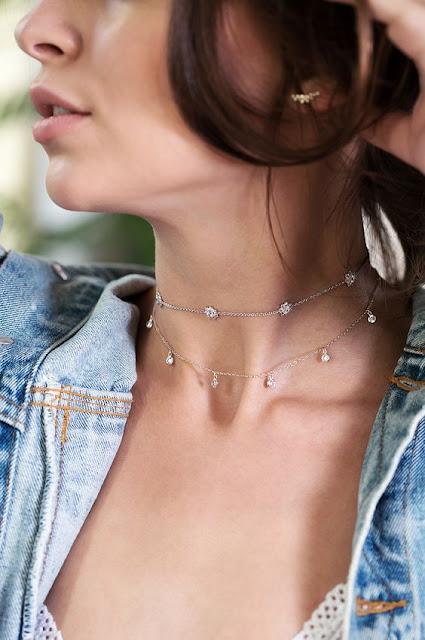 collier fantaisie pour femme