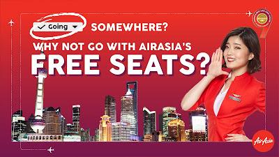 AirAsia Free SEATS Flight Ticket Zero Fare Discount Offer Promo