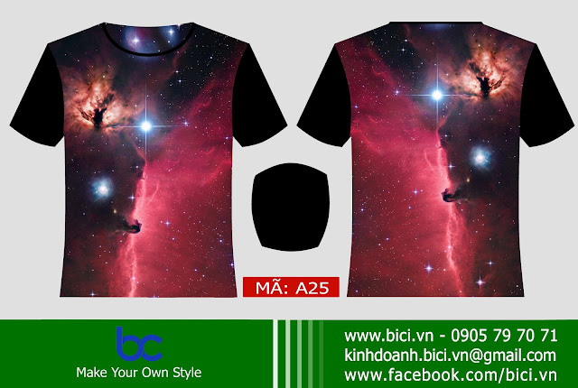 áo lớp galaxy mẫu