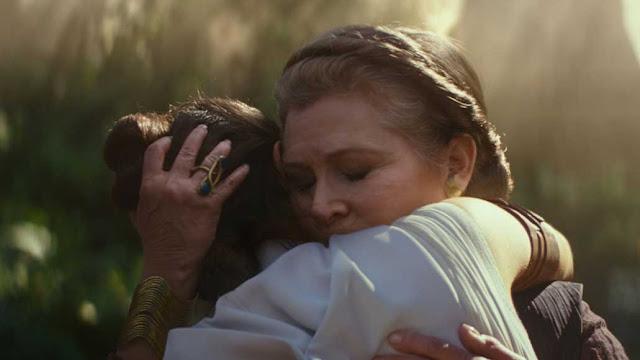 الملحمة الأخيرة من حرب النجوم ستبدأ! العرض الدعائي الرسمي لفيلم Star Wars: The Rise of Skywalker يعطينا نظرة عما سيحدث  شخصية ليا كاري فيشر تعود