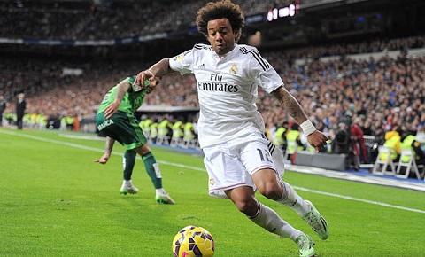 Marcelo có khả năng chơi bóng tốt
