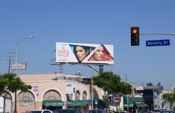 A Simple Favor billboard