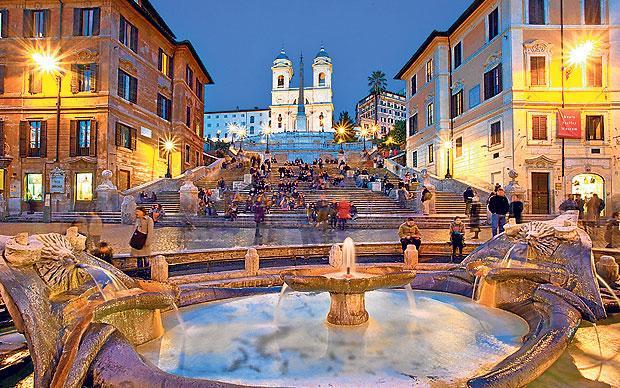 O clima em Roma - Inverno
