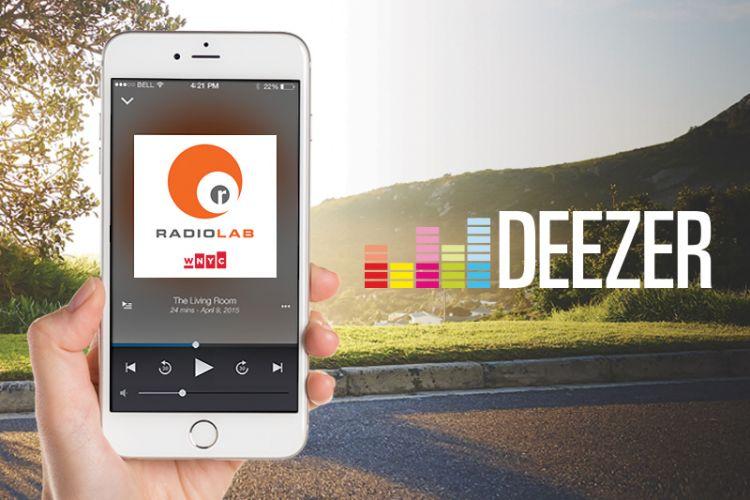 Deezer lança no Brasil podcasts