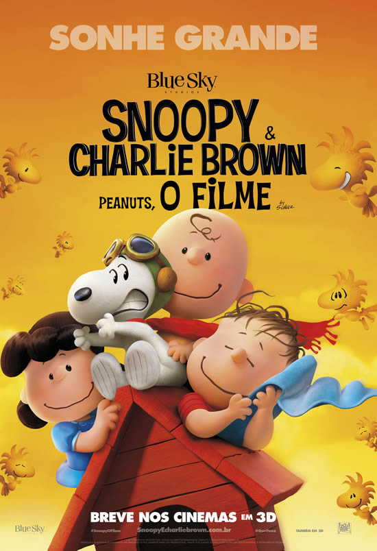 Snoopy & Charlie Brown: Peanuts, o Filme Torrent – Blu-ray Rip 720p e 1080p Dublado (2016)