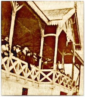 Detalhe da Plateia no Primeiro Pavilhão do Fortim da Baixada (1912)