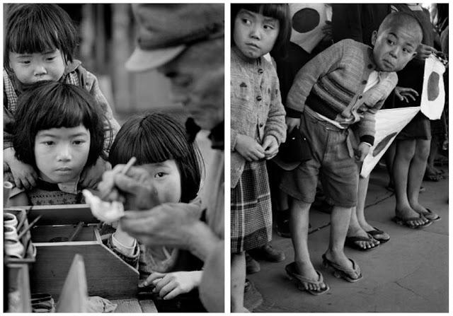 Fotos Werner Bischof - Japão, Tóquio e Hiroshima, 1951 - Crianças