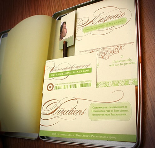 diseños de invitaciones para bodas creativas