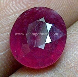 Batu Permata Red Ruby - ZP 643