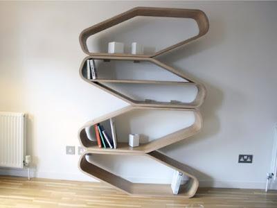 model rak buku dinding minimalis terbaru
