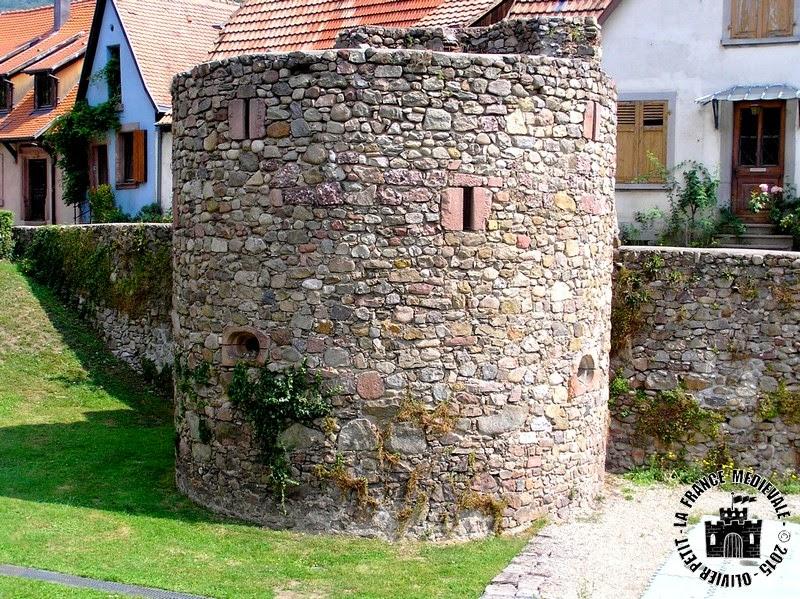 KAYSERSBERG (68) - remparts médiévaux
