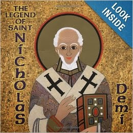 http://www.amazon.com/The-Legend-Saint-Nicholas-Demi/dp/0689846819/ref=sr_1_3?ie=UTF8&qid=1385952821&sr=8-3&keywords=saint+nicholas