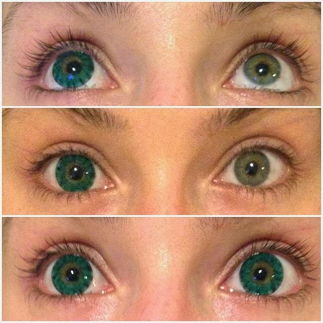 Freshlook Dimensions Sea Green >> Korean Big Eye Circle Lenses: Korean Skin Care & Makeup - More in www.uniqso.com: I.Fairy Super ...