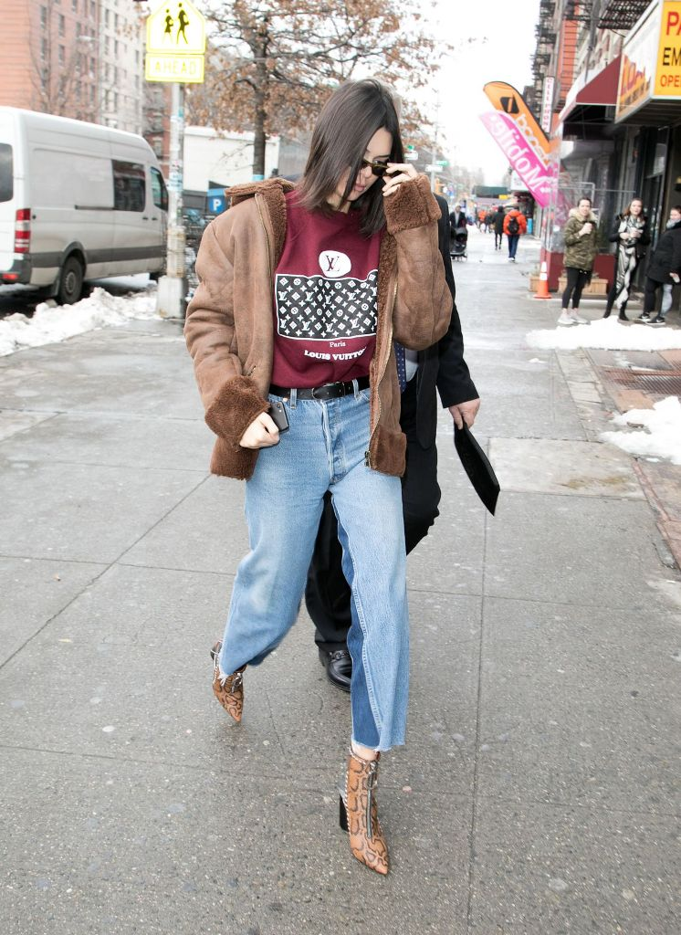 Kendall Jenner Urban Outfit Out in New York City